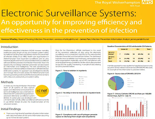 Electronic Surveillance Systems:       An opportunity For Improving Efficiency and Effectiveness in The Prevention of Infection