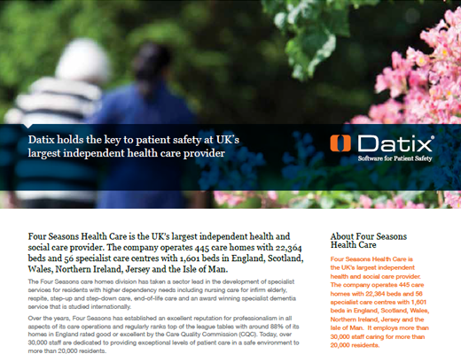 Datix Holds The Tey To Patient Safety at UK's Largest Independent Health Care Provider
